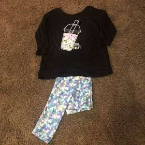 Justice Legging & Top Set